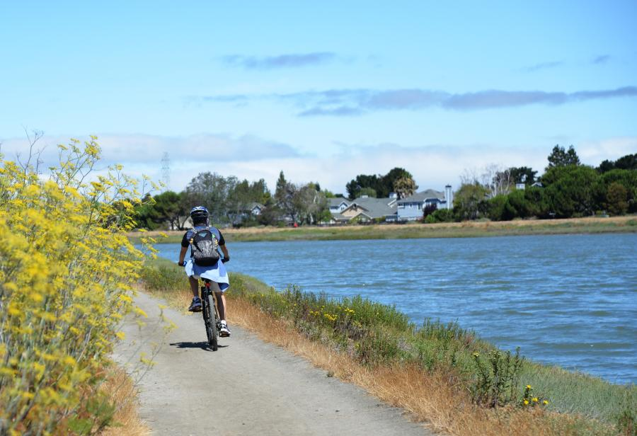 Bicycling on the San Francisco Bay Trail