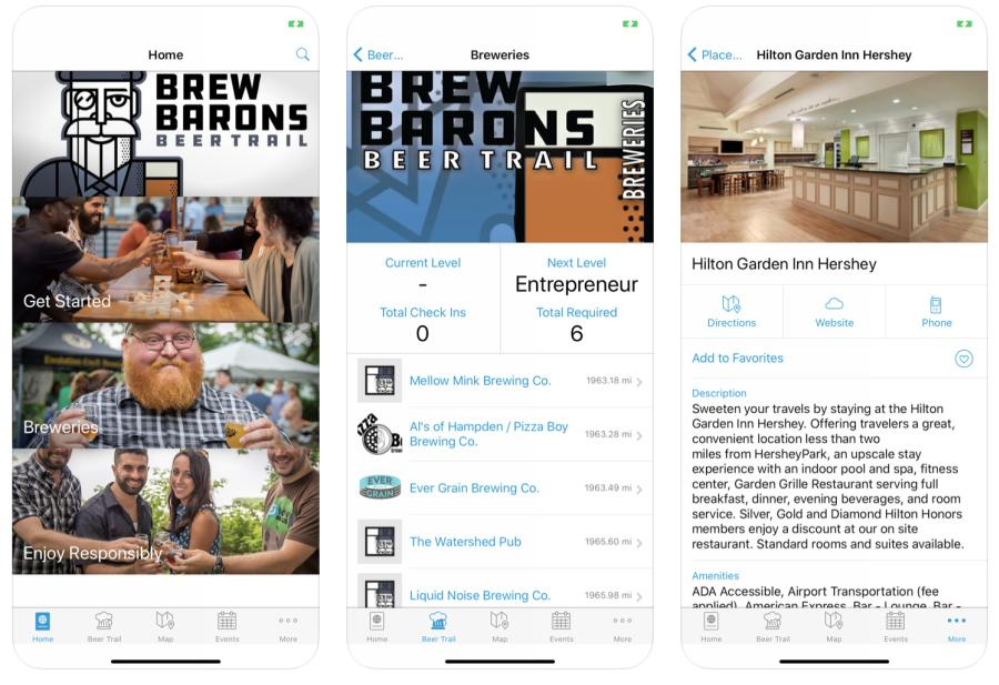 VisitApps - Brew Barons Beer Trail