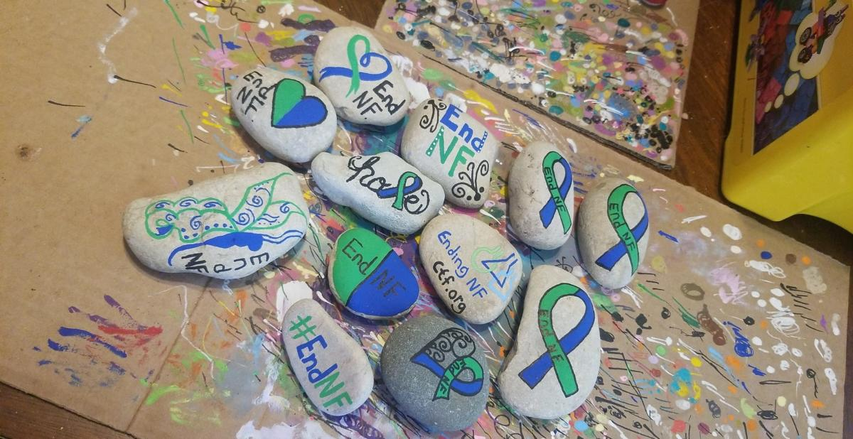 You may spot these rocks, painted by Brittany Wynn, in the Stevens Point Area.