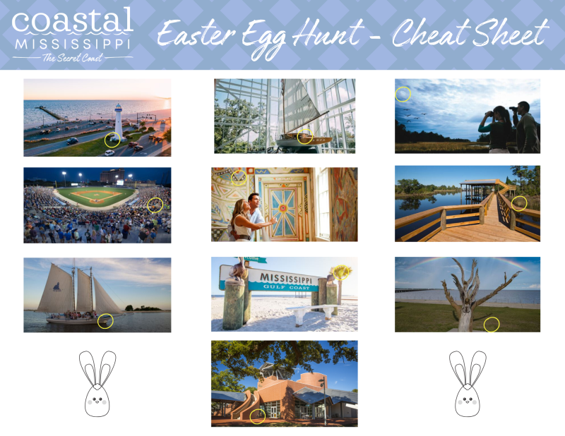 Easter Egg Hunt - Cheat Sheet