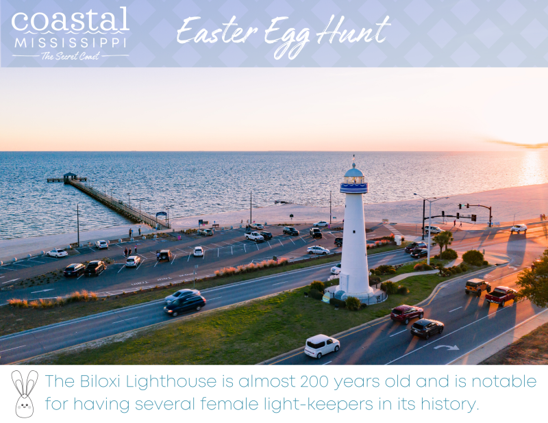 Easter Egg Hunt - Biloxi Lighthouse