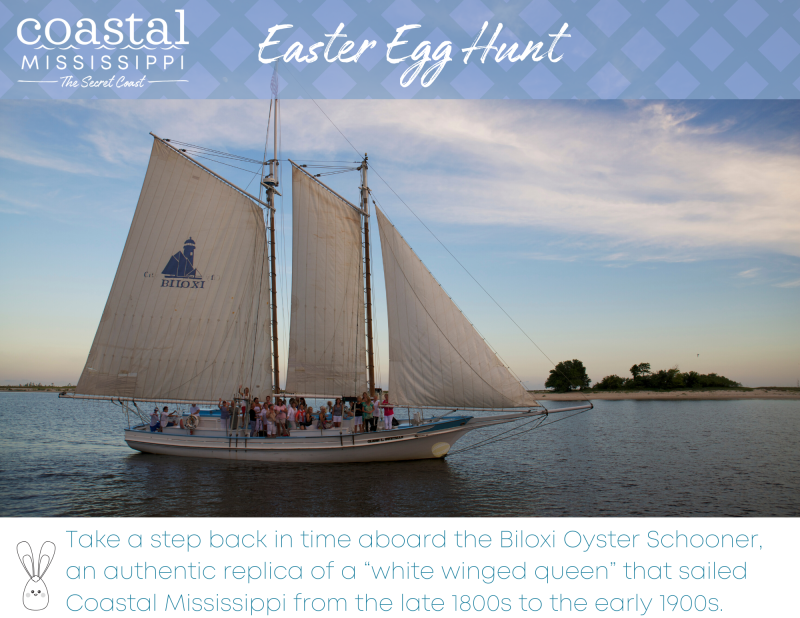 Easter Egg Hunt - Biloxi Oyster Schooner