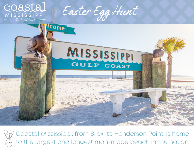 Easter Egg Hunt - Coastal Mississippi Beaches