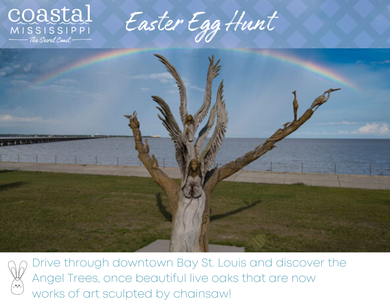 Easter Egg Hunt - Angel Trees