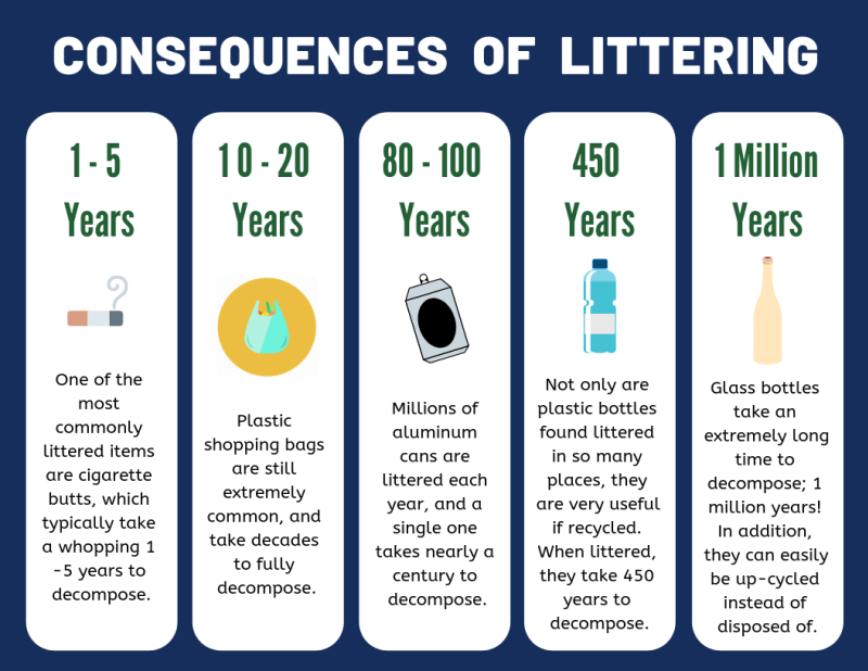 Consequence of Littering