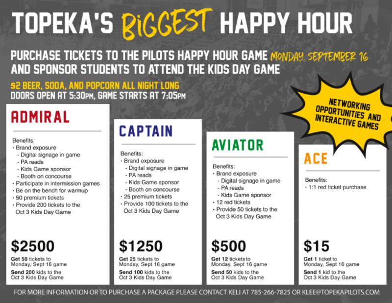 Pilots Biggest Happy Hour