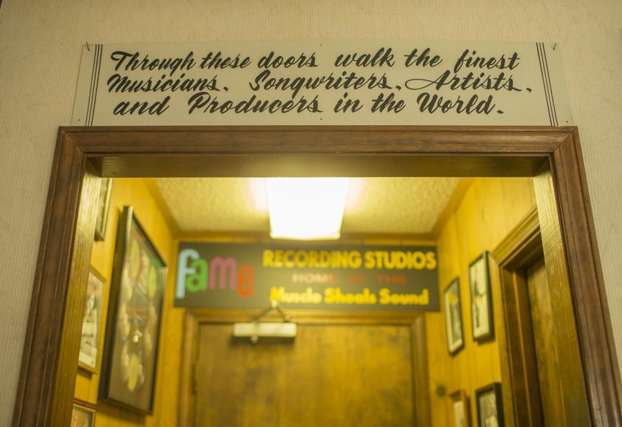 Experience a bit of musical history at Fame Studios in Huntsville.