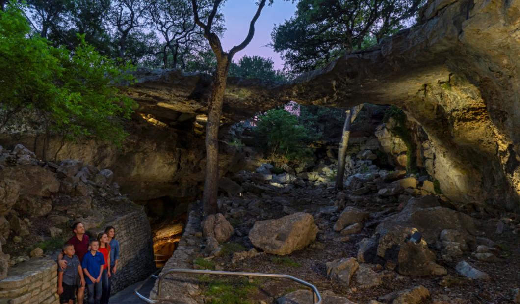 Natural Bridge Caverns Sinkhole