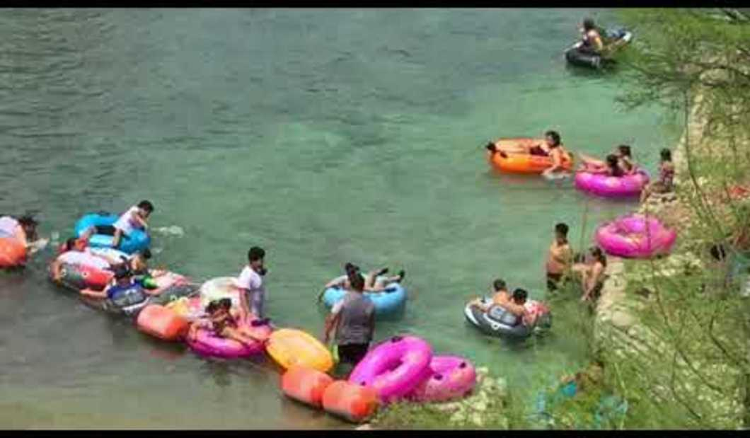 Tubing the Comal