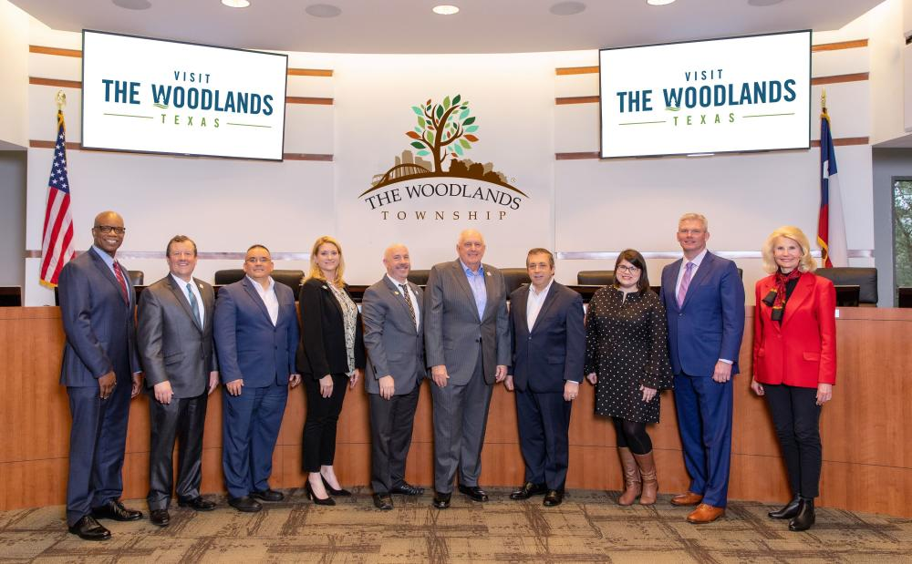 Visit The Woodlands 2020 Board of Directors