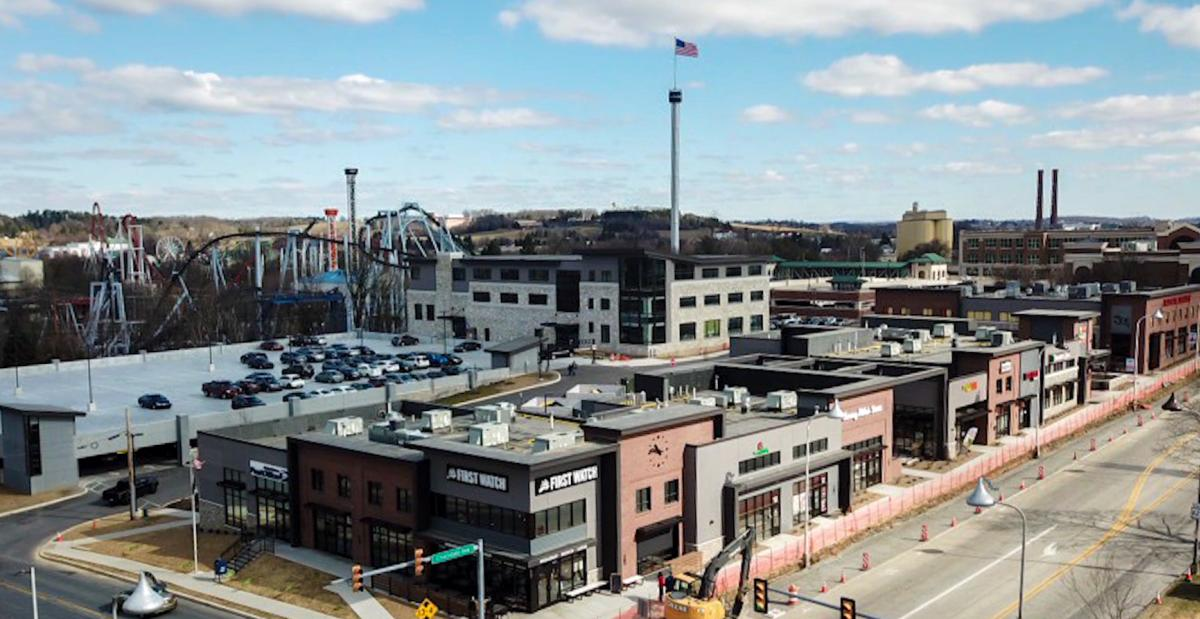 Hershey Towne Square Project Aerial 2019