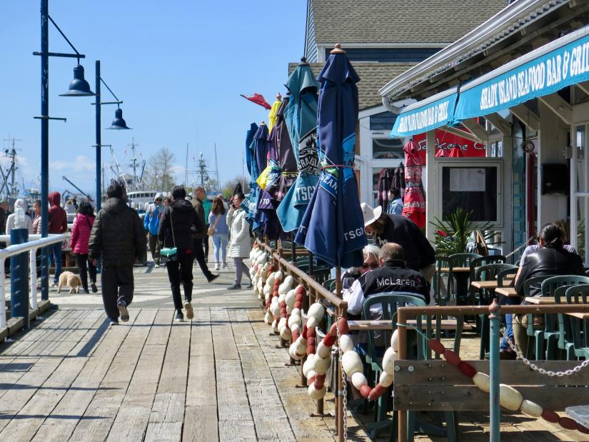 Steveston Boardwalk - Photo: John Lee