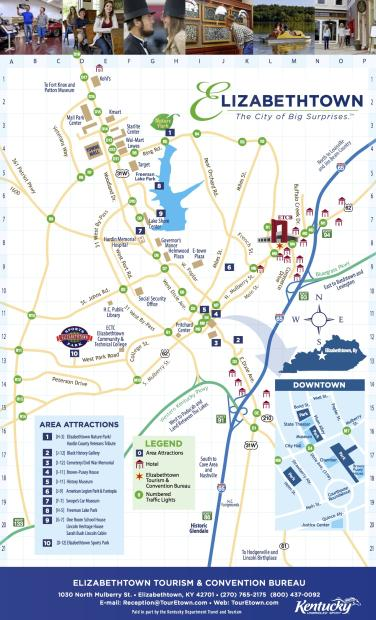 Elizabethtown Map 2014
