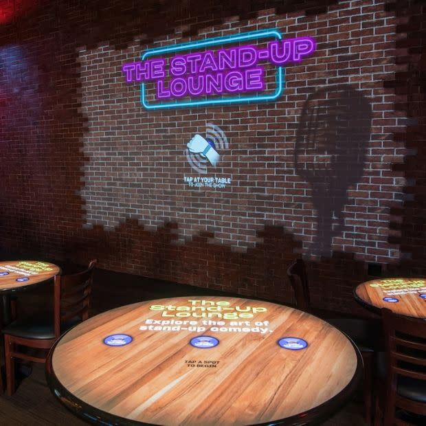 Stand-up Lounge at the National Comedy Center in Jamestown, New York