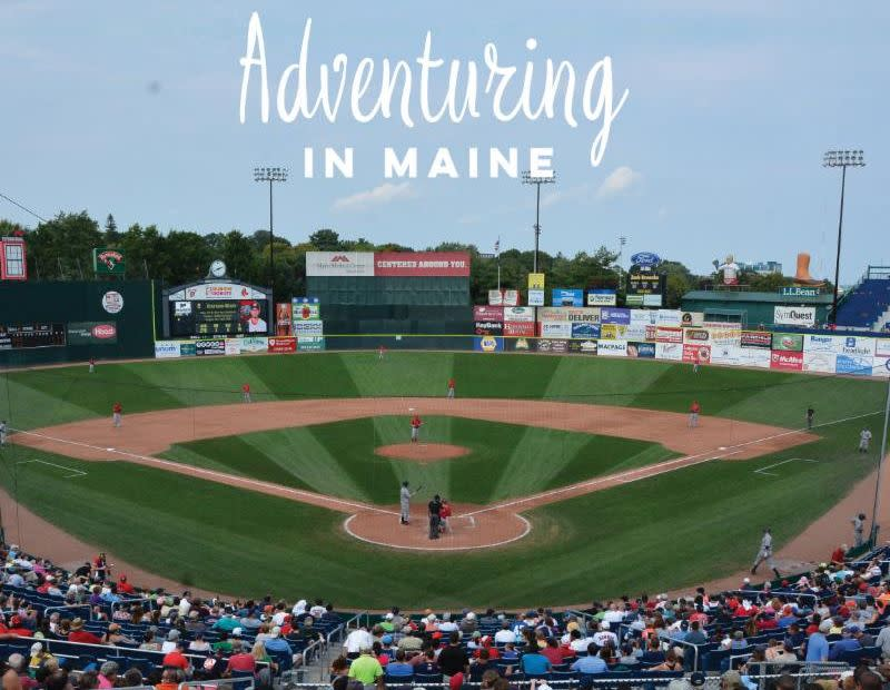 Adventuring in Maine Minor League Sports