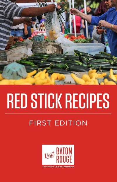 Red Stick Recipes first edition cover