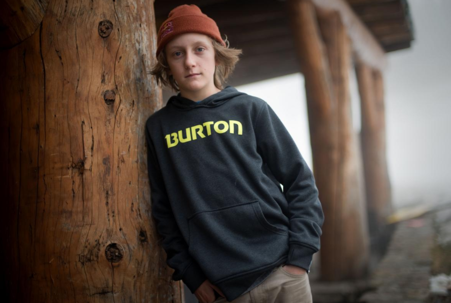 Olympian Red Gerard at Seven Springs