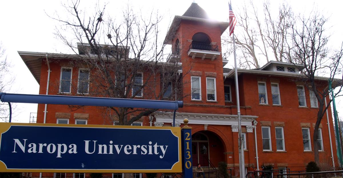 Front of Naropa University