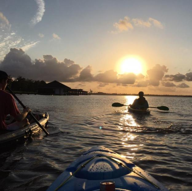 Kayaking on Prien Lake | Photo of the Month
