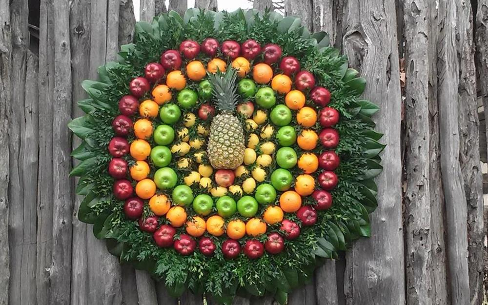 James Whites Fort Christmas Wreath