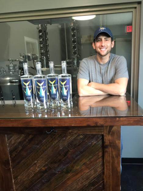 Yellowfin Vodka with Jamison Trouth