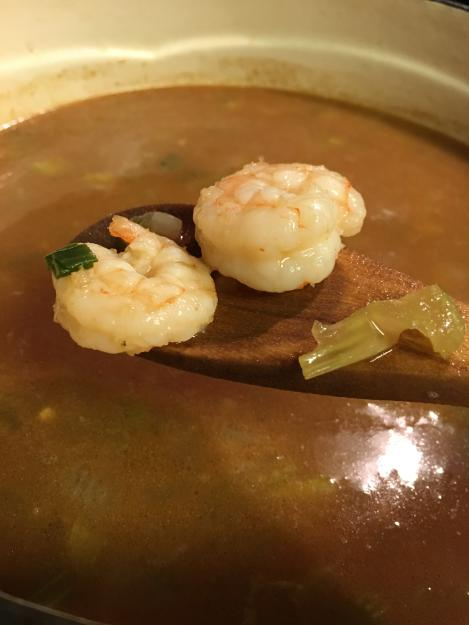 Shrimp Gumbo | Everybody in the pot!