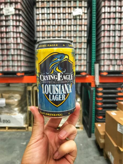 Crying Eagle Louisiana Lager | Lake Charles Louisiana