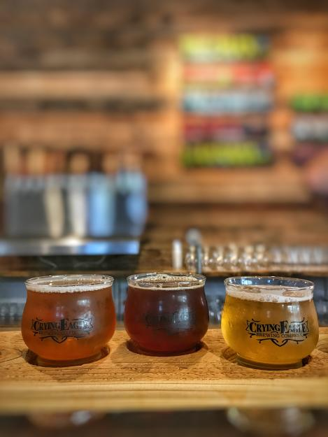 Crying Eagle Beer Flight | Lake Charles