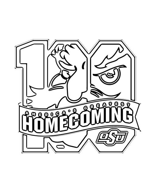 OSU Homecoming Coloring Page