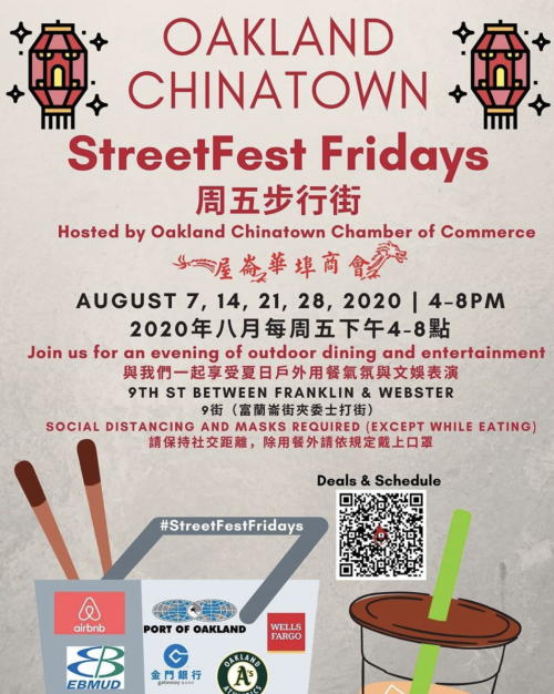 Chinatown StreetFest Fridays 2020