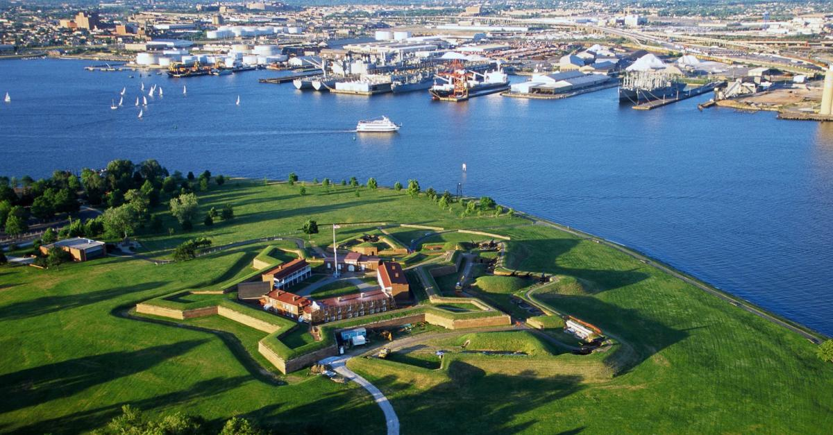 Ft. McHenry aerial