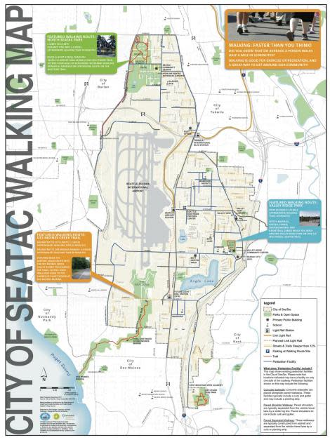 SeaTac Walking Map