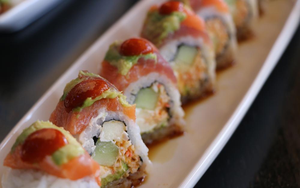Samurai Maki from Rain premiere sushi bar