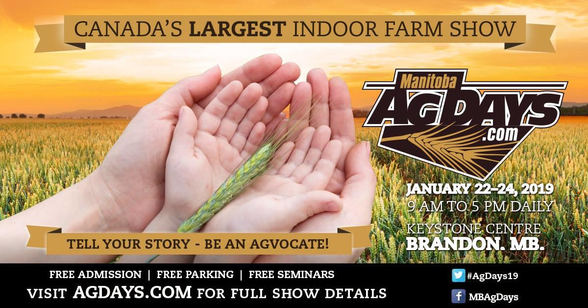 Manitoba Ag Days, Keystone Centre, Brandon