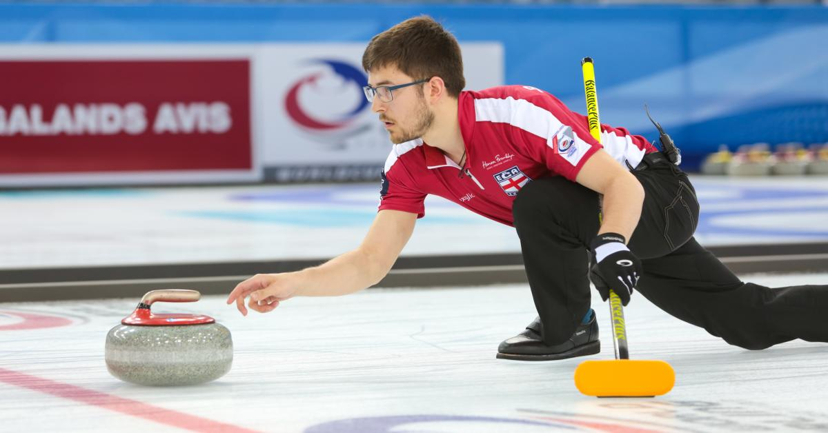 World Curling - Curling Throwing Rock