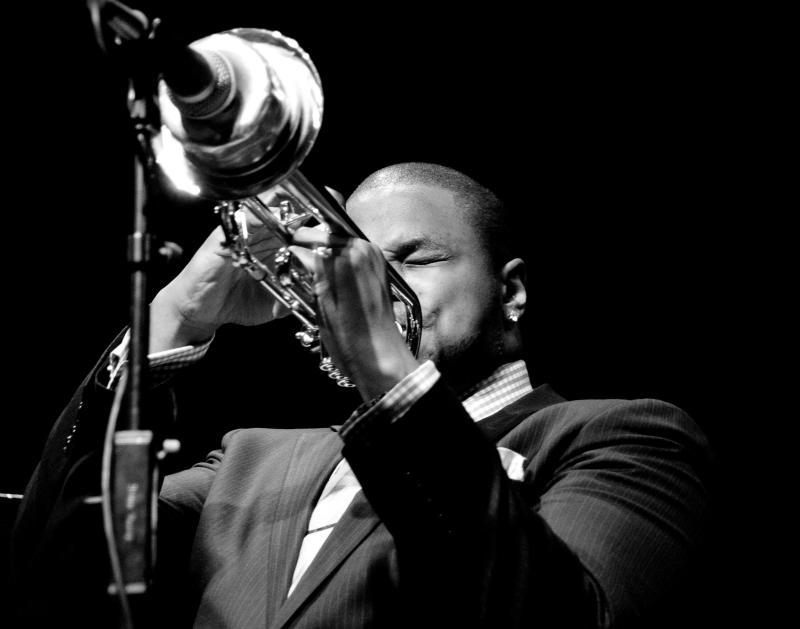 Trumpet Player at Yoshi's Jazz Club