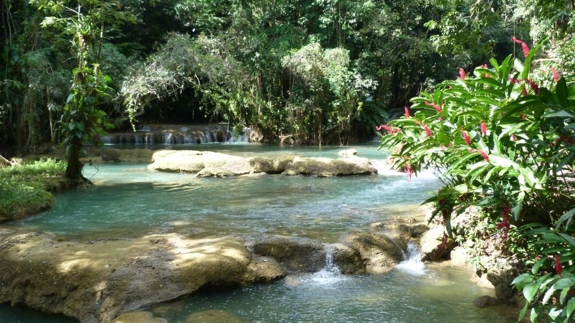 Chukka Caribbean Adventures Zipline over YS Falls