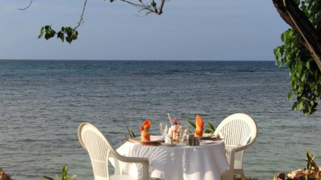 Lunch for two at Sky Beach, Jamaica