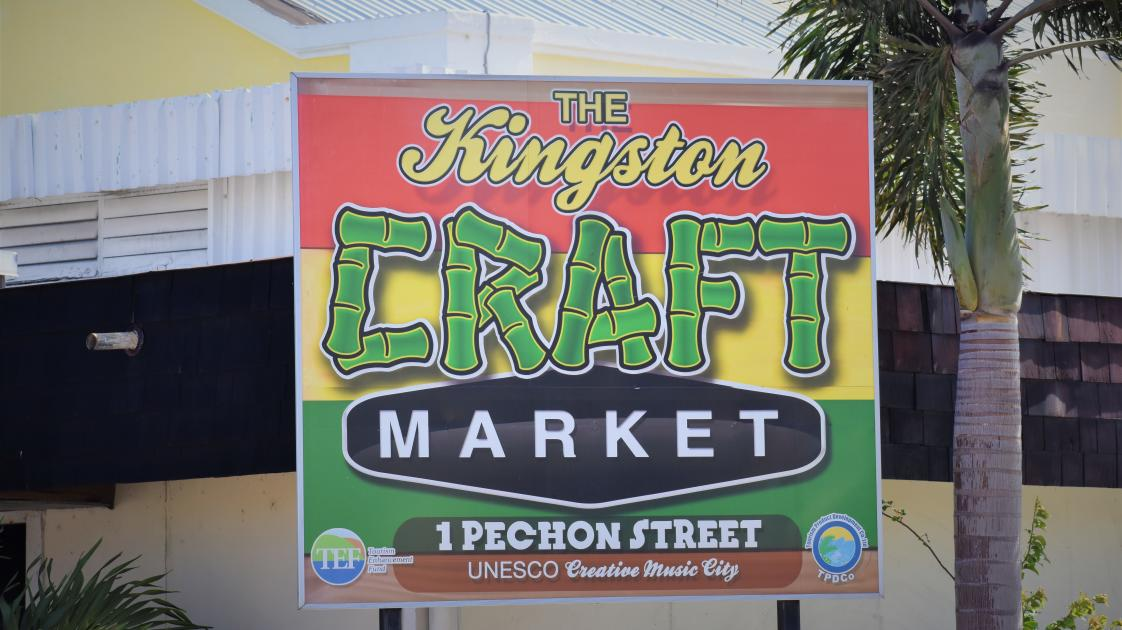 Kingston Craft Market, Jamaica