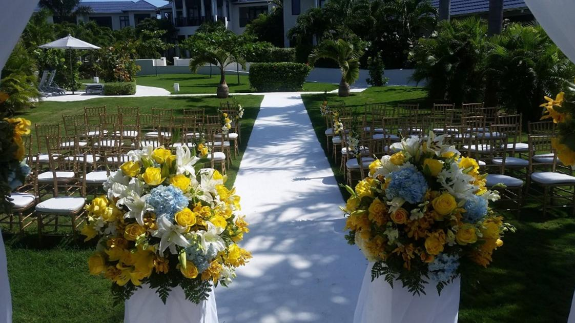 The Cliff Hotel - Wedding Decor