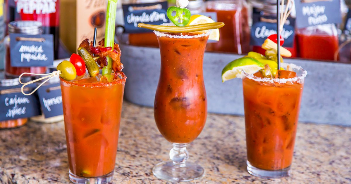 Bloody Mary Drinks