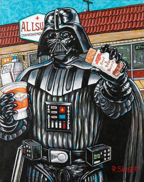 Ryan Singer (Navajo) Star Wars Darth Vader