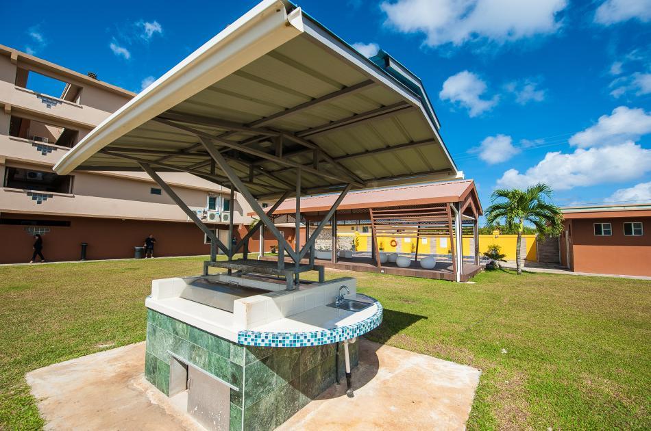 Self barbeque facilities