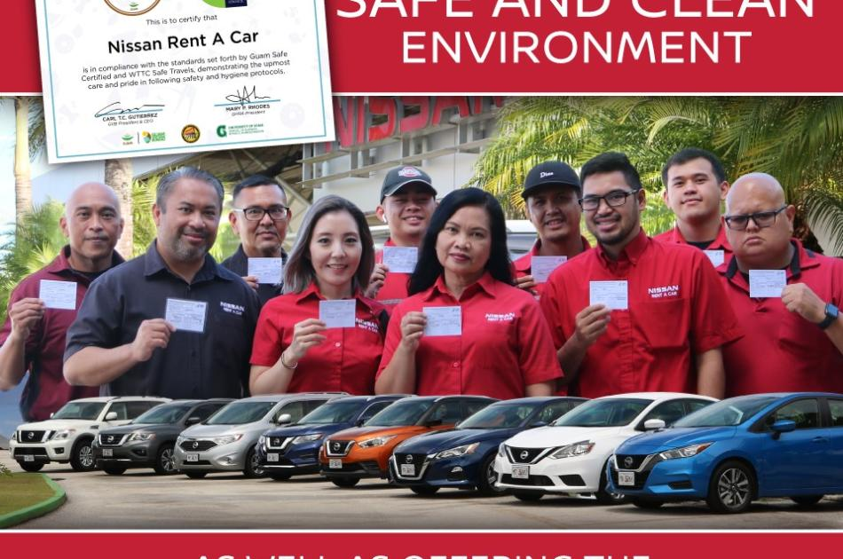 Nissan Flyer Guam Safe x WTTC
