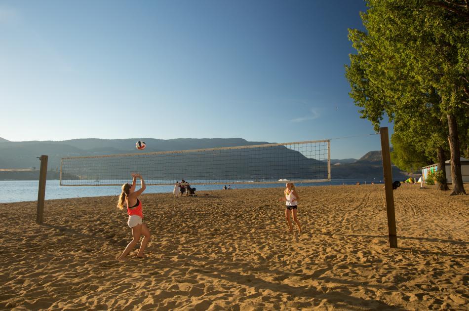 Beach Volleyball at Hot Sands Beach