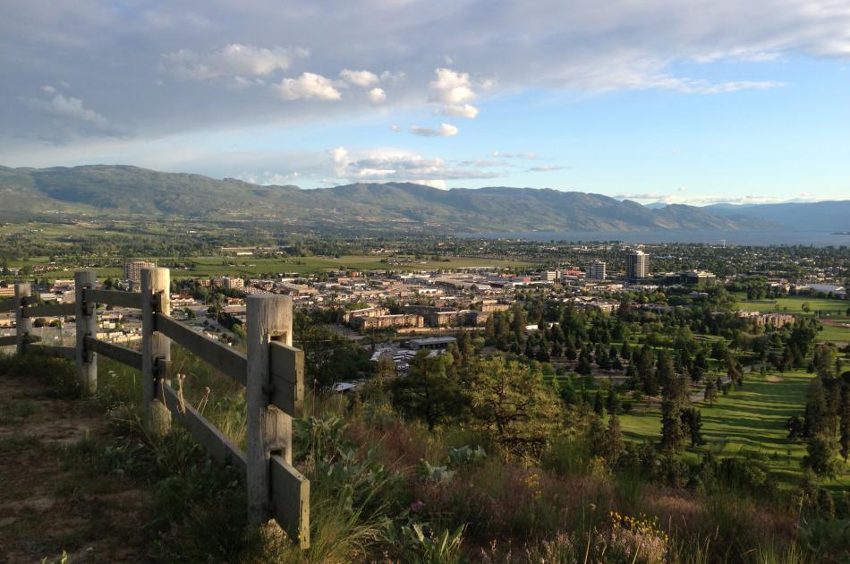 Dilworth Mountain Park View 1
