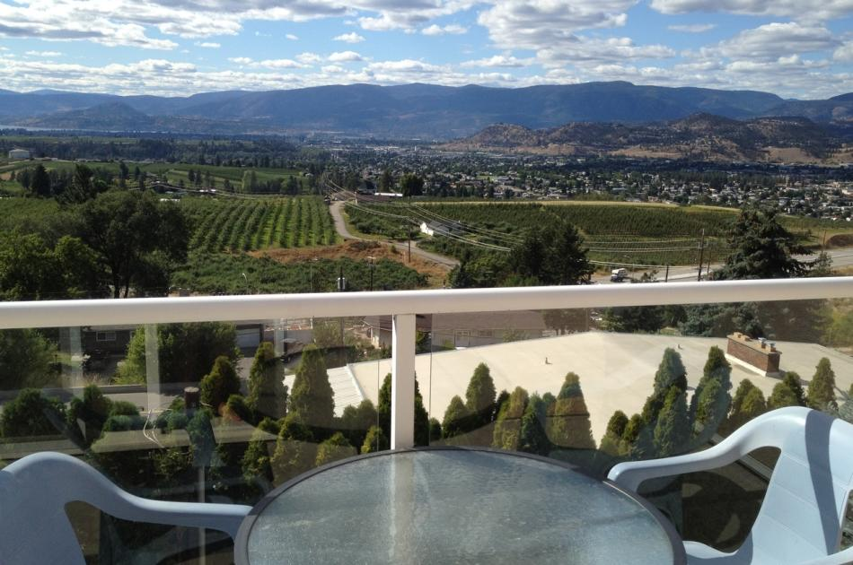Lake Okanagan and Kelowna City Views