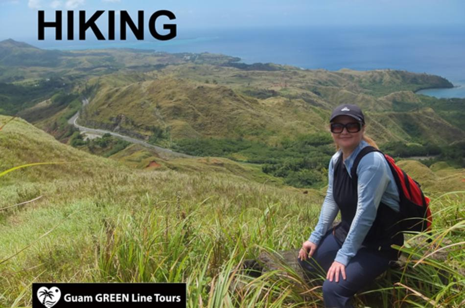 Guam GREEN Line Tours- Hiking