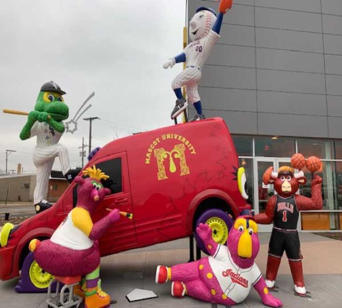 Mascot Hall of Fame mascots