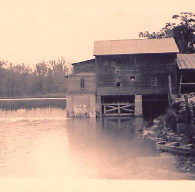 Historic photo of Atkinson Mill